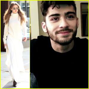 Zayn Malik & Gigi Hadid Are Super Cute in New Versace Video
