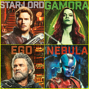 'Guardians of the Galaxy Vol. 2' Character Posters Revealed!