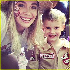 Hilary Duff Shares Sweet Message to Son Luca on His 5th Birthday!