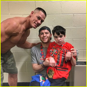 John Cena Meets with 12-Year-Old Super Fan After WWE Event!