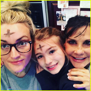 Jamie Lynn Spears Shares Ash Wednesday Selfie With Maddie