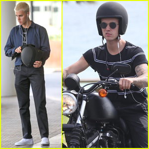 Justin Bieber Takes a Motorcycle Ride in Australia!