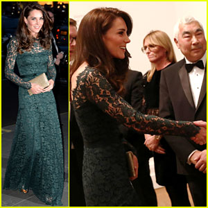 Kate Middleton Meets Alexa Chung, Views Art at Portrait Gallery