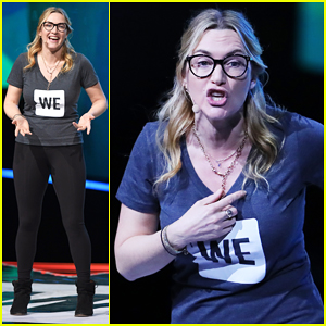 Kate Winslet Gives Inspiring Speech About Body Shaming & Believing In Yourself At WE Day UK 2017!