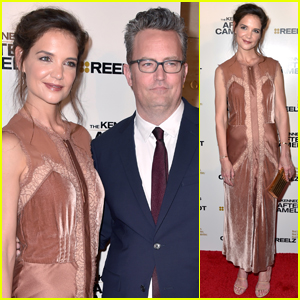 Katie Holmes & Matthew Perry Pair Up For 'The Kennedys After Camelot' Premiere