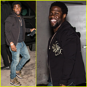 Kevin Hart Puts His Rock Hard Abs on Full Display