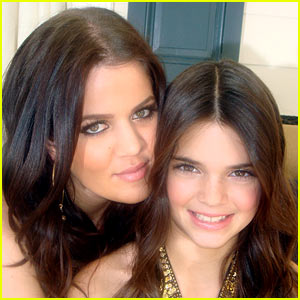 Khloe Kardashian Shares Her & Kendall Jenner's First-Ever 'KUWTK' Photo