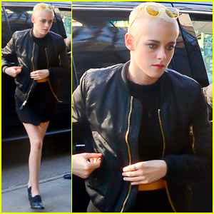 Kristen Stewart Wanted to Shave Her Head For a Long Time