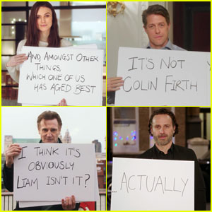 'Love Actually' Reunion Trailer Debuts, Brings Back the Cue Cards - Watch Now!