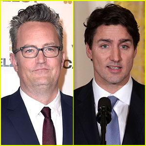 Matthew Perry Beat Up Justin Trudeau When They Were in School (Video)