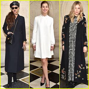 Rihanna Joins Rosamund Pike, Sienna Miller & More at Dior's Paris Fashion Show!