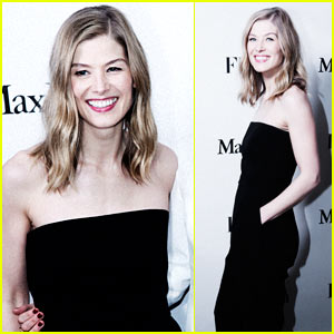 Rosamund Pike Celebrates Her 'The Girlfriends Issue' Cover!