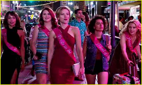 Scarlett Johansson & Friends Kill a Stripper in 'Rough Night' Trailer - Watch Now!