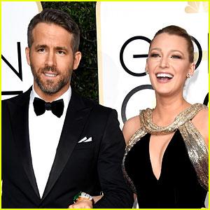 Ryan Reynolds Doesn't Mind Blake Lively Kissing Male Co-Stars