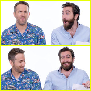 Ryan Reynolds & Jake Gyllenhaal Answer Google Autocomplete Questions in Hilarious Interview - Watch Now!