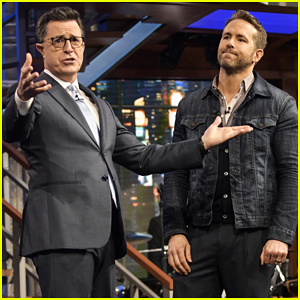 Ryan Reynolds Pokes Fun Of Himself Over 'Green Lantern' With Stephen Colbert - Watch Here!