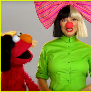 Sia Shows Her Face While Singing on 'Sesame Street' (Video)