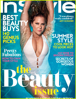 Amy Schumer Talks Aging, Plastic Surgery, & Drinking for 'InStyle' Cover