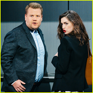 Anne Hathaway & James Corden Perform Epic Romantic Comedy Musical - Watch Here!