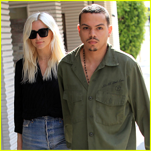 Ashlee Simpson Holds Hands with Hubby Evan Ross in Beverly Hills