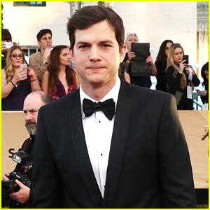 Ashton Kutcher Honors Mila Kunis & Their Kids in Emotional Speech (VIDEO)
