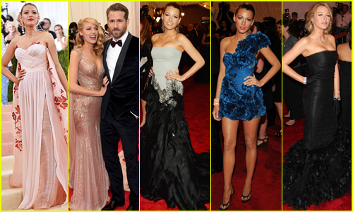 Blake Lively's Glamorous Gowns of the Met Gala Over the Years