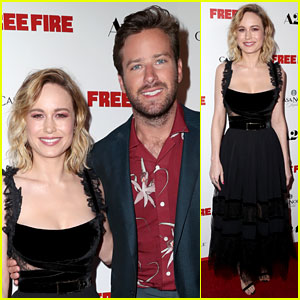 Brie Larson Joins Armie Hammer at 'Free Fire' L.A. Premiere!