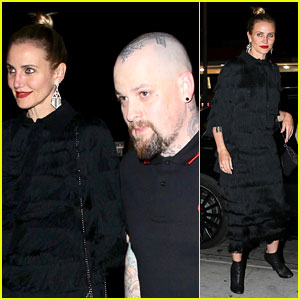 Cameron Diaz & Benji Madden Couple Up for Jessica Alba's Star-Studded Birthday Party