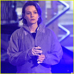 Carey Mulligan Begins Filming Her New Show 'Collateral' in London