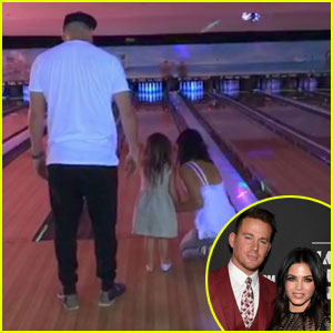 Channing Tatum Celebrates His Birthday with Wife Jenna & Daughter Everly!