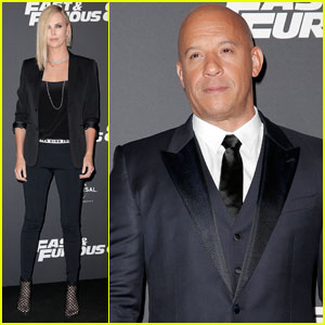 Vin Diesel Gushes Over Kissing Charlize Theron in 'The Fate of the Furious'