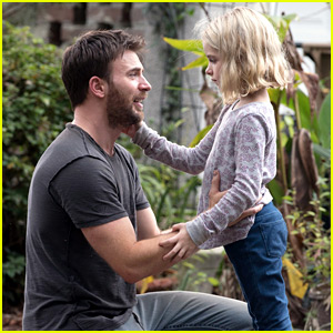 These Stills of Chris Evans in 'Gifted' Prove He'd Be a Great Dad