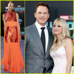 Chris Pratt & Anna Faris Couple Up For 'Guardians of the Galaxy Vol. 2' Hollywood Premiere