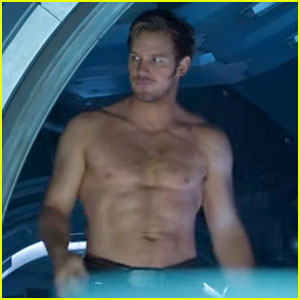 Chris Pratt's Shirtless Appearance in New 'Guardians' Teaser Will Make Him Your Man Crush Monday!