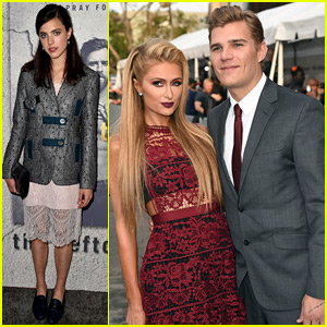 Chris Zylka & Paris Hilton Couple Up at 'The Leftovers' Premiere