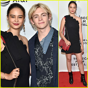 Courtney Eaton Joins Boyfriend Ross Lynch at 'My Friend Dahmer' Tribeca Premiere!