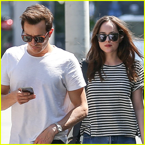 Dakota Johnson Grabs Lunch With a Her Brother in LA