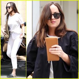 Dakota Johnson Gets Some Shopping Done in Los Angeles