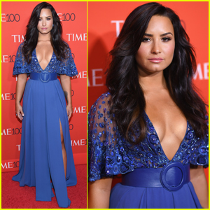 Demi Lovato Celebrates Being Named 'Time' 100 Honoree