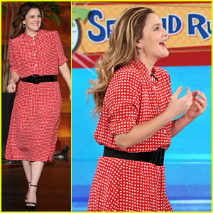 Drew Barrymore & Ellen DeGeneres Play '5 Second Rule' - Watch Now!