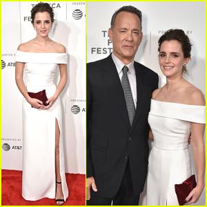 Emma Watson & Tom Hanks Premiere 'The Circle' at Tribeca Film Festival