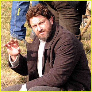 Gerard Butler Continues Filming 'Keepers' in Scotland