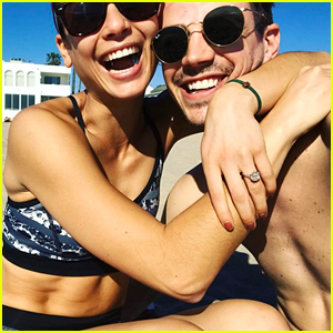 Grant Gustin is Engaged to Girlfriend LA Thoma - See Her Ring!