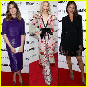 Mandy Moore & Jaime King Get Glam For 'Marie Claire' Fresh Faces Party