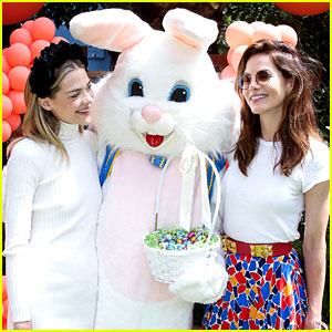 Jaime King & Michelle Monaghan Go Easter Egg Hunting with Their Families!