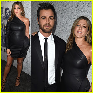 Jennifer Aniston Supports Hubby Justin Theroux at 'The Leftovers' Season 3 Premiere!