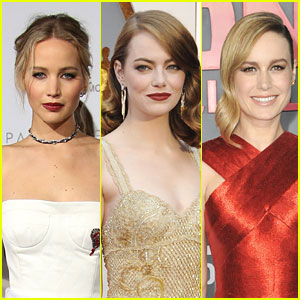 Jennifer Lawrence, Emma Stone, & Brie Larson Are All in a Group Text Together