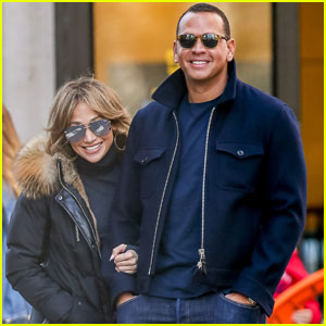 Jennifer Lopez & Alex Rodriguez Hold Hands in the Big Apple