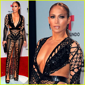 Jennifer Lopez Bares Killer Figure in Cut-Out Dress at Billboard Latin Music Awards 2017