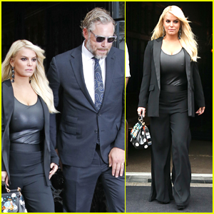 Jessica Simpson & Eric Johnson Stylishly Step Out in NYC